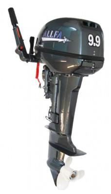 2-хтактный мотор ALLFA T9,9